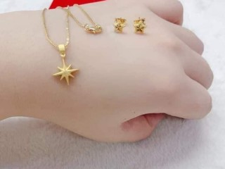 Thailand Gold Set 2 in 1 Necklace