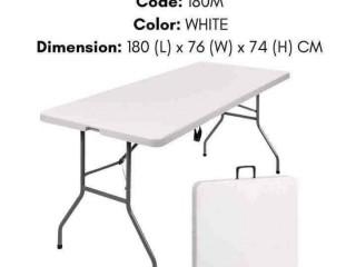 Lifetime White Foldable Table