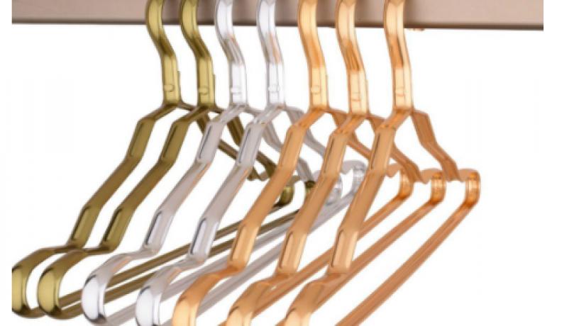 5pcs-per-set-coat-suit-aluminum-alloy-lightweight-clothes-hanger-non-slip-design-big-0
