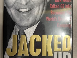 New Book: Jacked Up: The Inside Story of How Jack Welch Talked GE into Becoming the Worlds Greatest Company by Bill Lane