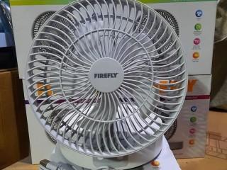 Rechargeable Desk Fan with Night Light