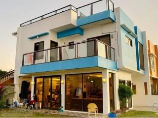 3BR OceanView House in Dauis, Bohol